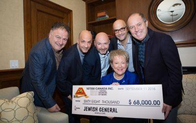 Five fabulous guys, one amazing fundraiser