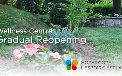 Announcing the gradual re-opening of our Wellness Centre as of July 5, 2021!