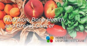 Newly Diagnosed Breast Cancer Support Group Public Lecture on Nutrition, Bone Health, and Breast Cancer @ Hope and Cope online | Montréal | Québec | Canada